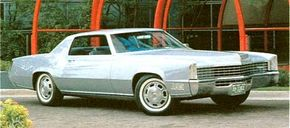 For 1969, headlights were no longer concealed within the grille, but other changes were minimal.