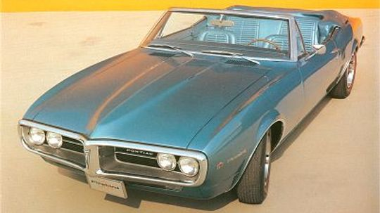 1967, 1968, 1969 Pontiac Firebird