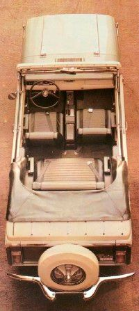 Front bucket seats were standard, though seating was a bit snug up back.