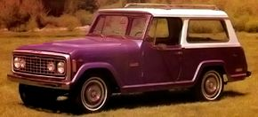 The Station Wagon was restyled for 1972 and featured a 104-inch wheelbase and new AMC engine.