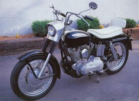 The Sportster's performance at Bonneville helped boost sales of the XLH.