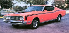 The restyled 1968 Mercury Cyclone GTs carried over into 1969 with few changes. See more classic car pictures.