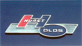 Lest there be any doubt, an emblem declared that H-O stood for Hurst/Olds.