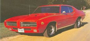 """In 1969 Pontiac introduced """"The Judge"""" as an answer to Plymouth's budget muscle car initiative."""