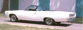 Plymouth's redesigned intermediates wore a Coke bottle profile and bulging bodysides for 1968.