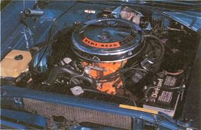 Optional on the GTX was the fearsome 426 Street Hemi, conservatively rated at 425 horsepower.