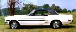 In 1968, Ford built 4,000 Mustang California Specials that were sold only in the Golden State. See more classic car pictures.
