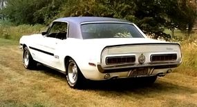 The California Special featured such components as Shelby taillights and side striping.