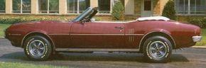 The 1968 Pontiac Firebird 400 convertible was the top-of-the-line Firebird for 1968.