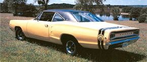 The Super Bee was a stripped-down model featuring a 383-cid V-8 engine. See more classic car pictures.