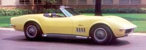The 1969 Corvette 427 was offered with a choice of a 390-, 400-, or 435-horsepower engine.