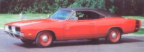 """Only 432 of the Chargers made in 1969 were equipped with the famed """"Hemi"""" V-8 engine."""