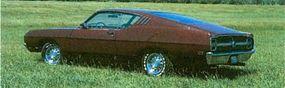 The 1969 Ford Talladega was aimed at providing an aerodynamic shape for NASCAR racing.