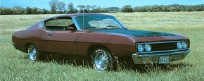 The 1969 Ford Talladega had a fastback roofline and a grafted-on snout.