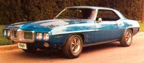 The 1969 Pontiac Firebird restyling was not appreciated by many Firebird fans.