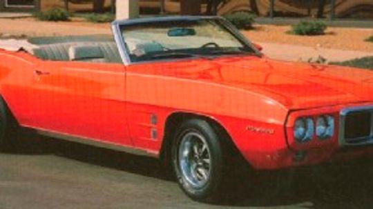 1969 Pontiac Firebird Sprint Convertible