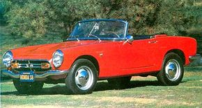 The Honda S800 was originally called the S360 and given 'light car' status. See more classic car pictures.