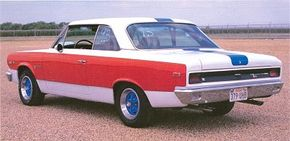 Only one powertrain was offered for the 1969 Rambler SC/Rambler -- a 315-bhp 390 with four-speed manual and a 3.54:1 rear gear.