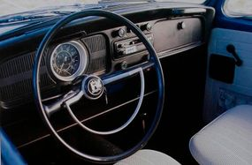 Though some traditionalists scorned the 1971 Volkswagen Super Beetle, it offered worthwhile features at only a slight cost penalty.