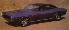 It would have been hard to go unnoticed while driving the flamboyant 1970 Dodge Challenger R/T 440 Six Pack. See more muscle car pictures.