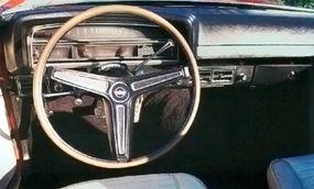 The dashboard had a simple design.