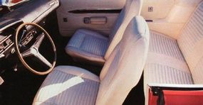 The Torino GT was a sporty car with a comfortable interior.