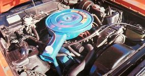 The GT ran on a 429-cubic inch Cobra Jet engine.