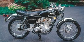 Pretty and potent, the 1970 Norton Commando 750S got rave reviews for its performance.