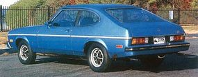 The base price of a Capri II in 1976 was $4,117; the 2.8-liter V-6 and Decor Group on this one raised the tab.