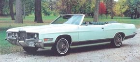 The 1971 Convertible Coupe was Ford's first ragtop model in the popular LTD series. See more classic car pictures.