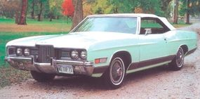 By 1971, however, interest in convertibles was waning and this classic car was short-lived.