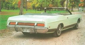 This was one of 5,750 LTD Convertibles made in 1971.