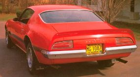 The 1971 Firebird Formula outsold the Trans Am four-to-one.