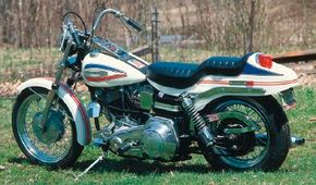 Harley's first factory custom was a pretty nice sum of its parts, though it didn't go over well at the time.