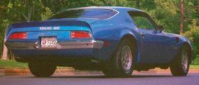 Only 1,286 1972 Pontiac Firebird Trans Ams were built.