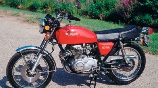 1975 Honda CB400