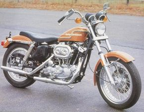 1975 Harley-Davidson XL-1000's such as this one are difficult to find in original condition. See more motorcycle pictures.
