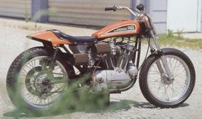 The XR-750 proved successful on the racecourse.