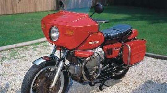 1976 Moto Guzzi V1000 Convert