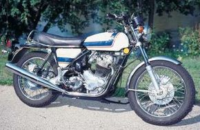The 1976 Norton Commando was the most up-to-date version of the bike yet, but still couldn't overcome the Japanese competition. See more motorcycle pictures.