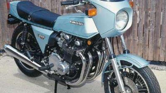 1978 Kawasaki Z1-R and Z1-R TC