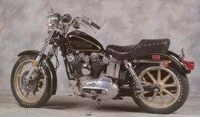 The 1978 Harley-Davidson XL-1000 Sportster was designed for Harley's 75th anniversary. See more motorcycle pictures.
