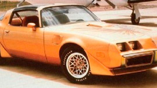 1979 Pontiac Firebird Trans Am and 10th Anniversary Trans Am