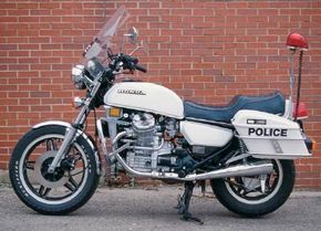 Stubby wheelbase, upright forks, and an oddly tapered fuel tank contributed to the CX500's unorthodox look.