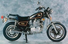 Honda addressed some of the initial styling concerns with a Custom-model version of the CX500.