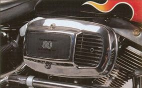 The FXWG offered an 80-cubic-inch Big Twin engine.