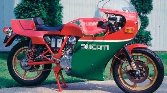 1981 Ducati Hailwood Replica