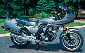 Honda tried to fit its CBX series into several market niches, including this sport-touring incarnation.
