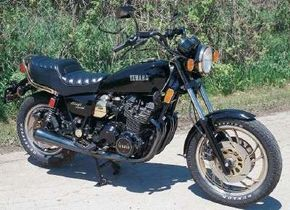 The Midnight Special featured a traditional Japanese inline four-cylinder engine rather than the V-twin found in most cruisers. See more motorcycle pictures.