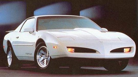 The 1982-1992 Pontiac Firebird